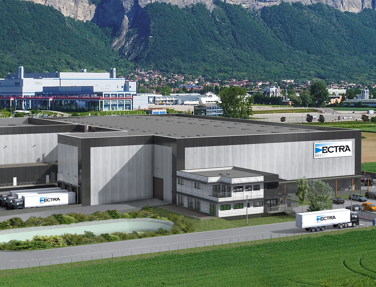 bâtiment logistique Rézolog