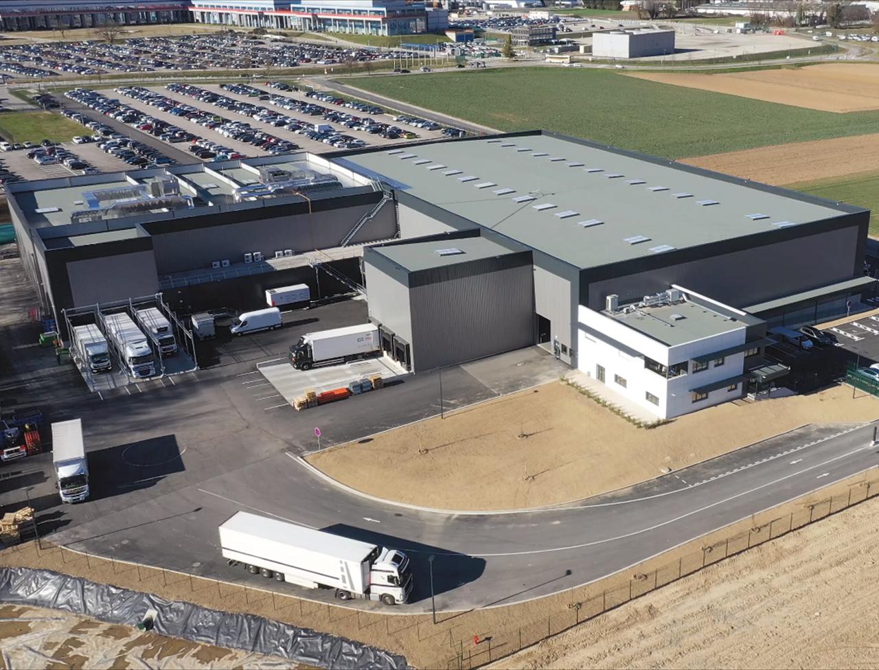 ECTRA nouvel entrepôt
