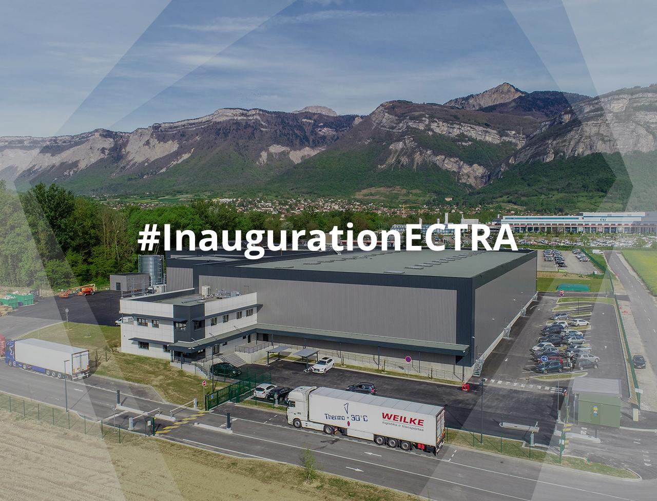 Inauguration du site logistique ECTRA Crolles
