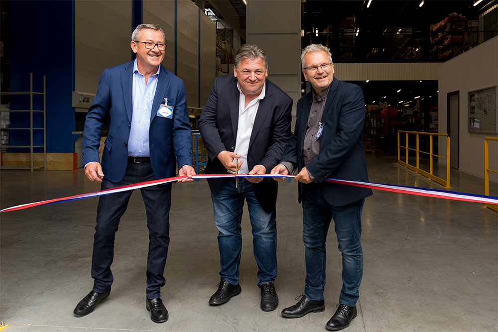 inauguration d'ECTRA